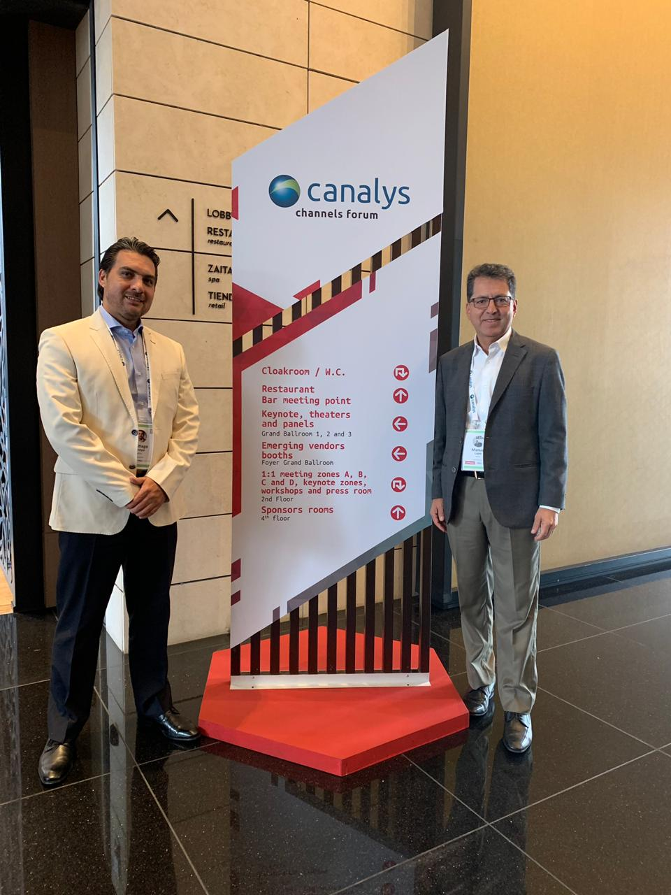 Evento Canalys Channels